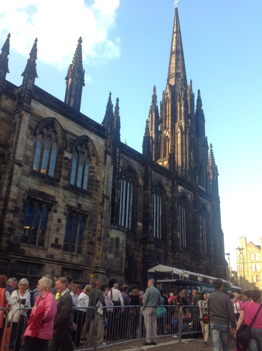 A church in Edinburgh